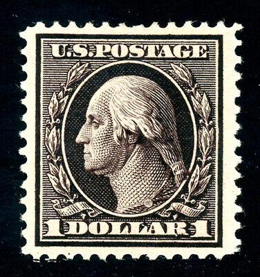 #342, $1.00 Violet Brown, Nicely centered & full OG, 2008 PSE, Scott is $450