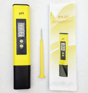 Brand New High Accuracy 0.01 PH Meter Tester for Aquarium Pool