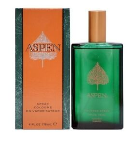 ASPEN BY COTY MEN 4.0 4 OZ 118 ML COLOGNE SPRAY NEW IN BOX
