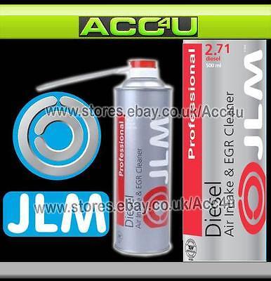 JLM Professional Diesel Car Van Air Intake & EGR Inlet Valve Cleaner Spray 500ml