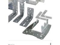 Joist hangers metal
