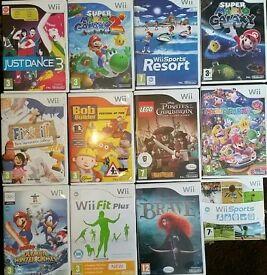 Wii games x10
