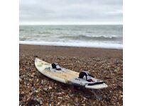 RRD Maquina 5'11 wave kite surfboard