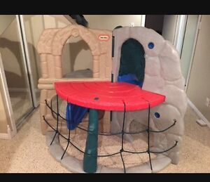 Little tikes climber slide play structure