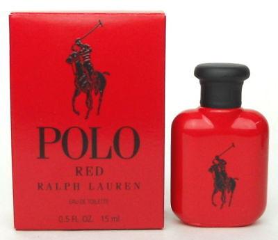 Polo Red Cologne Perfume Ralph Lauren 0.5 oz 15 ml EDT Splash For Men New Boxed