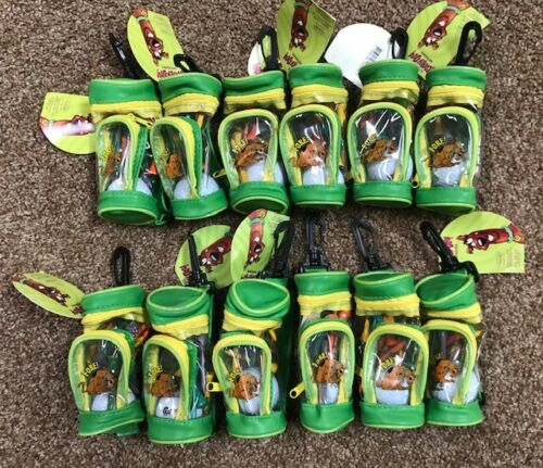 12 Scooby Doo Golf Collection Mini Bag Balls RELP Tees NEW Cartoon Network FORE