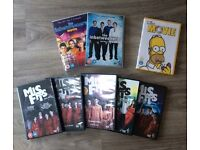 8 DVDs selection