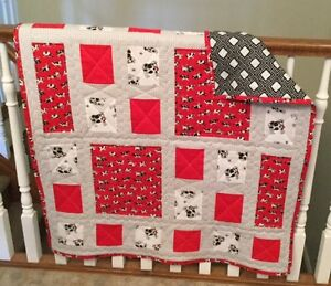 CHILDS QUILT - RED COWS London Ontario image 2