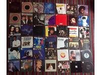 Job lot of 150+ seven inch vinyl record singles 1980's pop classics.