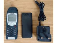 Unlocked SIM FREE genuine NOKIA 6210 with spare battery with mains charger FREE DELIVERY*
