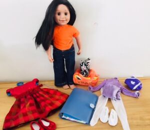 MapleLea Canadian Girl Alexi + 3 outfits