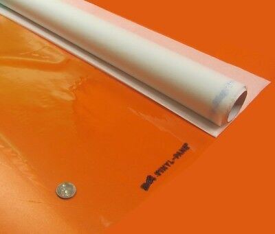 Pvc Film Rolls Sheets Clear .004 Thick X 36 Wide X 150 Ft Long