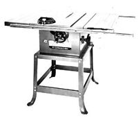 """Rockwell 10"""" Contractors Table Saw - Working Excellent"""