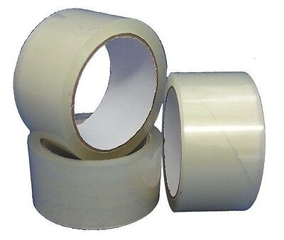 6 Rolls 1.8 Mil 2 X 330 110 Yd Clear Carton Packaging Tape