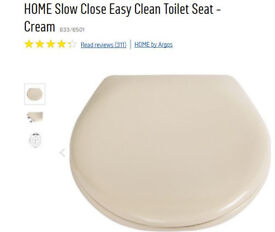 Soft Close Toilet Seat (New in box, see Argos Catalogue No 833/6501)