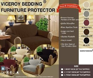 Luxury-Quilted-SOFA-SETTEE-Furniture-Chair-Protector-Cover-THROW