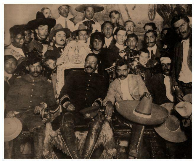 "Pancho Villa & Zapata POSTER ** HUGE 20"" X 24"" SIZE **  Mexican Revolution"