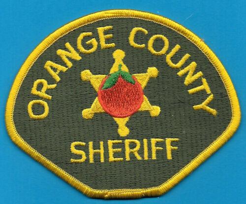 ORANGE COUNTY CALF CA CAL SHERIFF DEPT  (FIRE)  OC SO SD EMBLEM SHOULDER