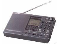Sony ICF-SW7600 World Radio Receiver, LW MW FM & SW Radio Receiver