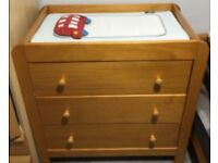 Mamas and Papas Fern Chest of Drawers /Changing Table