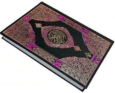HOLY QURAN Arabic:Large 16 lines Persian text Indo Pak Mushaf Taj
