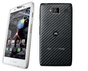 Motorola Droid RAZR HD XT926 White Verizon Smartphone 4G ...