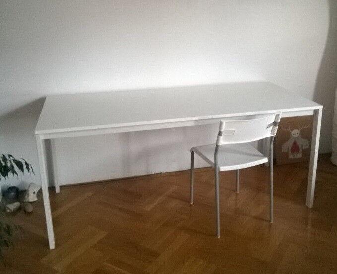 IKEA MELLTORP 1.75 m length dinning table / office desk white