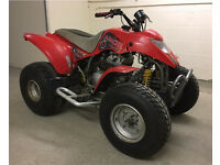 BREAKING SMC QUADZILLA RAM APACHE BAROSSA 250cc ROAD LEGAL QUAD PARTS FRAME LOGBOOK ID ENGINE