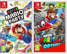 Super Mario Party  + Super Mario Odyssey Nintendo Switch - BRAND NEW