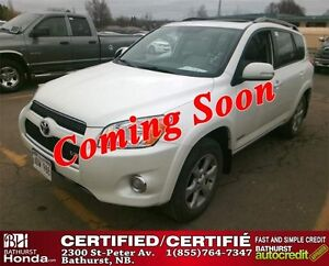 2012 Toyota RAV4 Limited Certified! V6! 4WD! Power Moonroof! Bac
