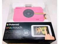 Pink Polaroid Snap Touch Digital Camera