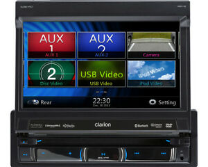 Clarion NZ503 DVD MULTIMEDIA STATION WITH BUILT-IN NAVIGATION