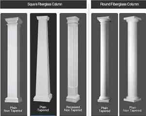 Fiberglass columns buy sell items tickets or tech in for Fiberglass columns for sale