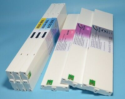Roland Ecosol Max Compatible -cyan- Ink 440ml Cartridge Esl3-4cy