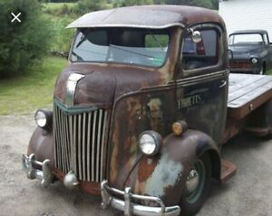 Wanted Old truck : Cab Over Engine (coe)