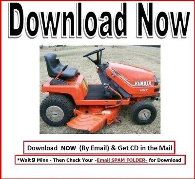 Kubota T1400 Lawn Tractor Service Repair Workshop Manual
