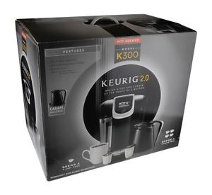 Keurig 2.0 K300 Brewer, Black, Mint Condition