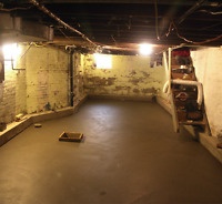 Underpinning - Add headroom to a Basement