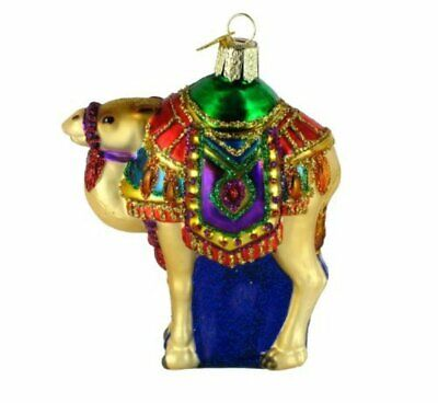 Old World Christmas 12214 Glass Magi's Camel Ornament