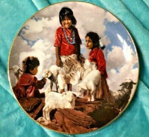 SWANSON PLATE - THE PROUD NATION - UP IN THE RED ROCKS1988 PLATE W/ CERTIFICATE