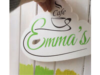 part time/full time kitchen assistant Emma's cafe in Trafford park