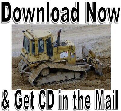 Cat D5 D7 D8 Dozer Technical Service Shop Manual Parts Manual - Caterpillar