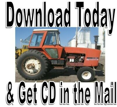 Allis Chalmers 7030 7040 7050 7060 7080 Tractor Service Repair Manual On Cd