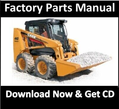 Case 420 442ct Skid Steer Series 3 Parts Manual Compact Track Loader