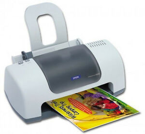 Epson C60 printer, Photo Paper & Canon Photo Bridge, asstd ink