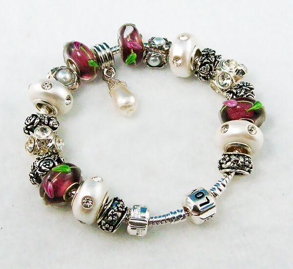 pandora silver charm bracelet buying guide ebay