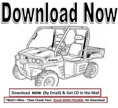 Bobcat 3400 3400xl Tool Cat Repair Service Manual Toolcat