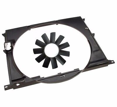 (For Radiator Shroud Housing+Engine Cooling Fan Blade kit For BMW 3 Series Z3)