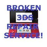 AS IS Broken Nintendo 3DS System Parts and Repair Service!
