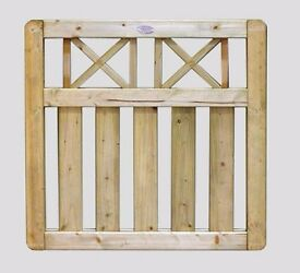 BOUNDARY ELITE 3FT X 3FT TOP QUALITY GARDEN GATE ONLY £55 EACH